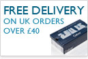 Free Delivery on UK Orders over £40