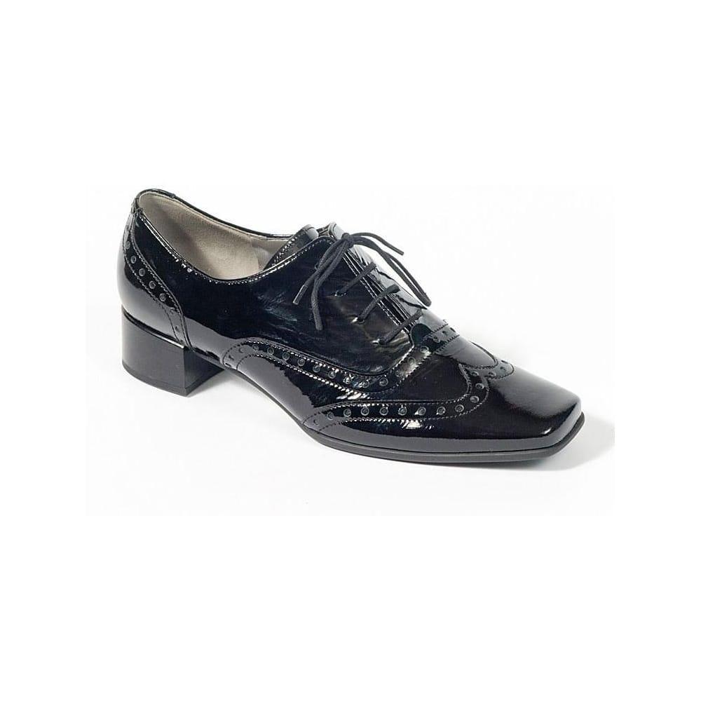 Gabor Olga Brogue Shoes: High Heel Man-Tailored: Charles ...