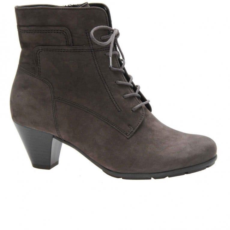 Gabor Ladies Lace Up Shoes Block Heel