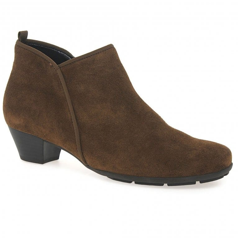 gabor trudy boots womens suede ankle gabor shoes