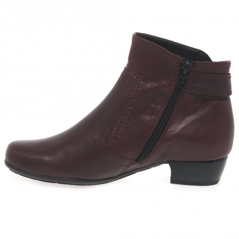 gabor bea classic wide fit ankle boots gabor shoes