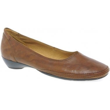 Gabor Ceres 'V' Throat Slip On Shoes