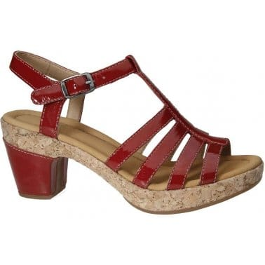 Gabor Impression Strappy T Bar Ladies Sandals
