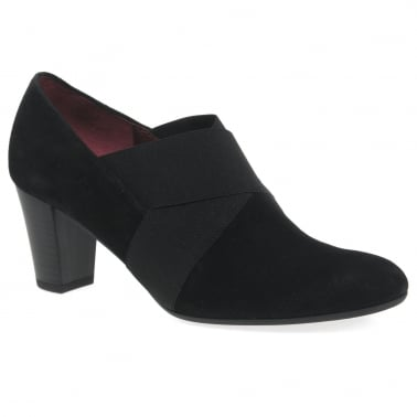 Gabor Ella Womens Suede Wide Fitting Court Shoes
