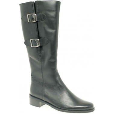Gabor Chant Adjustable Leather Womens Boots