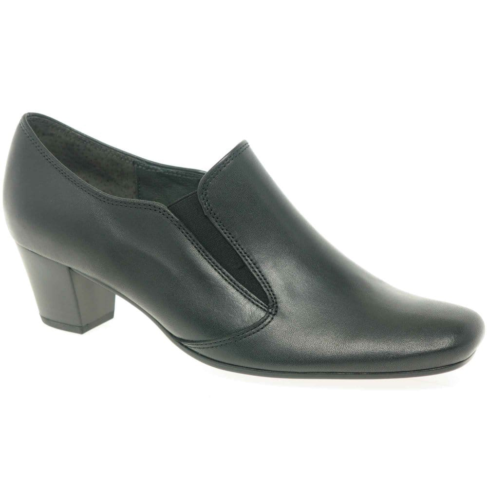 gabor alma high cut courts black leather shoes charles
