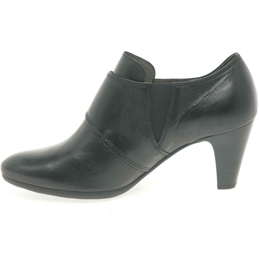 gabor enola shoe boots black leather shoes charles