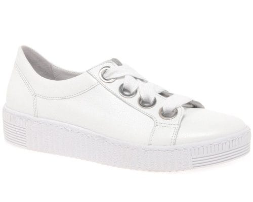 white trainers with navy dress