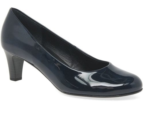 navy shoes with a navy dress