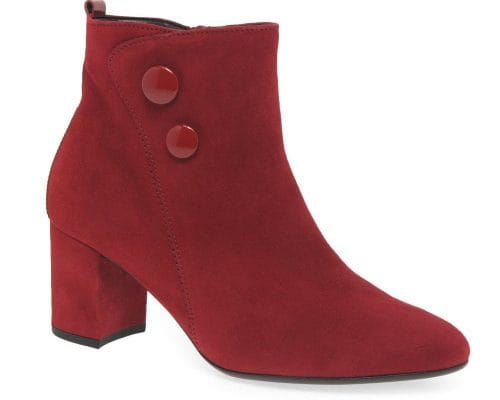 red boots with navy dress
