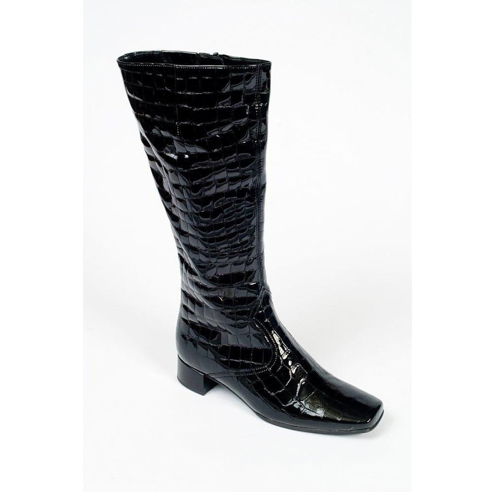5bfa072fe5c Blossom II Patent Croc Long Womens Boots