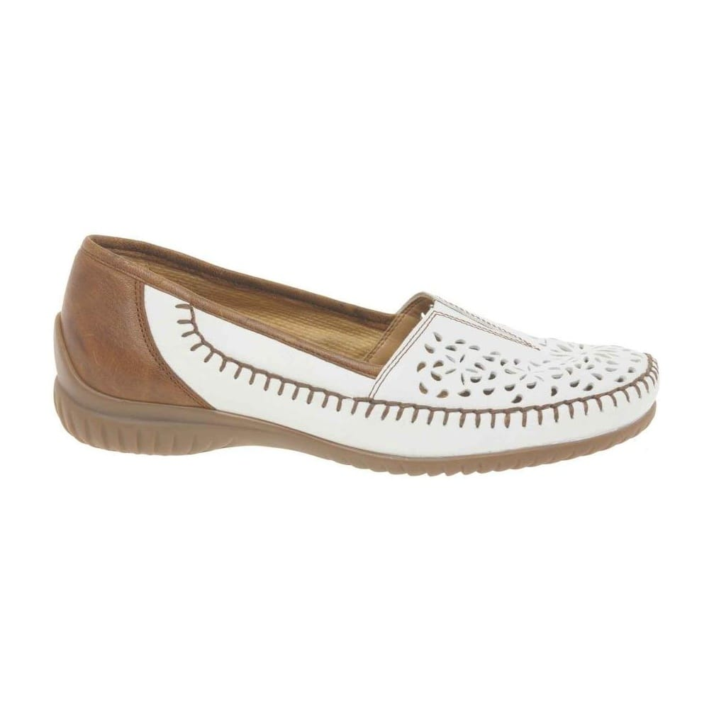f0953f27218b Caroline Cut Out Casual Womens Moccasins - Shoes from Gabor Shoes UK