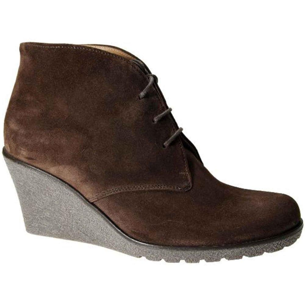 f86c6bdc6c7 Elen Suede Wedge Ankle Boots