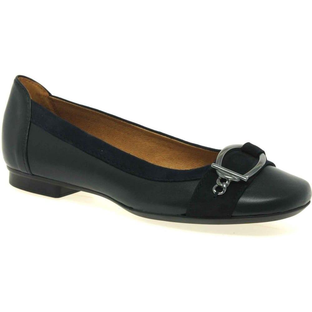 gabor virginia ballerina pumps ladies leather gabor shoes. Black Bedroom Furniture Sets. Home Design Ideas