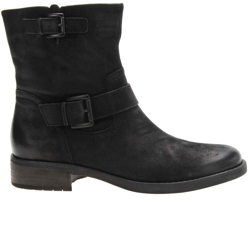 Gabor Complete Ladies Black Nubuck Ankle Boots - Women s from Gabor ... 70f2c41674