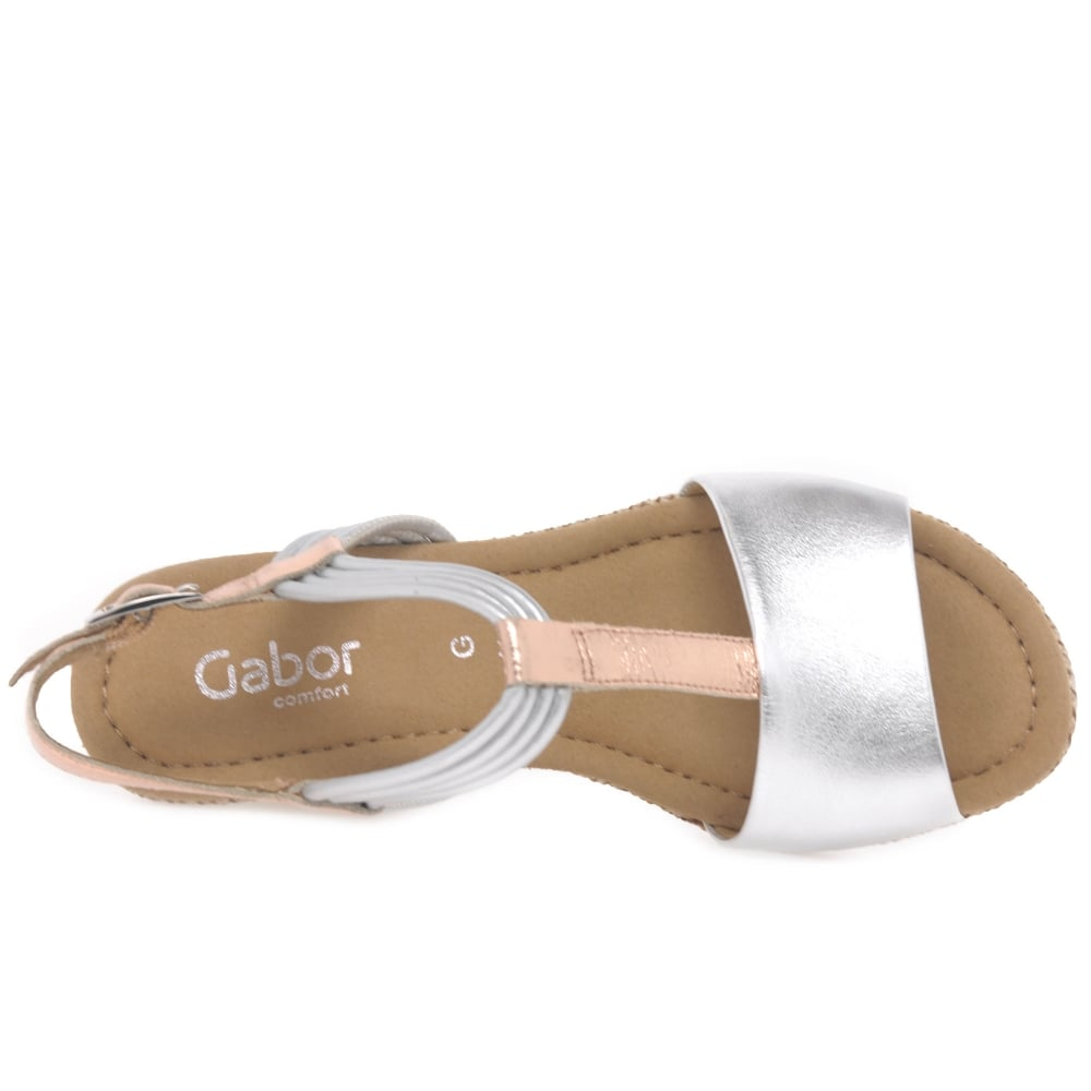 4398c12c3cdf Gabor Jess Ladies Casual Wedge Heel Sandals