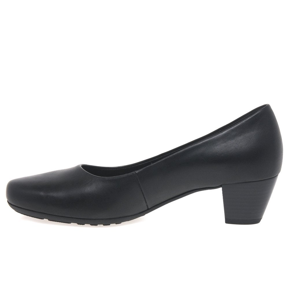 Gabor Brambling Wide Fit Leather Court Shoes Browse Cheap Price For Cheap For Sale aHXzkUWXTA