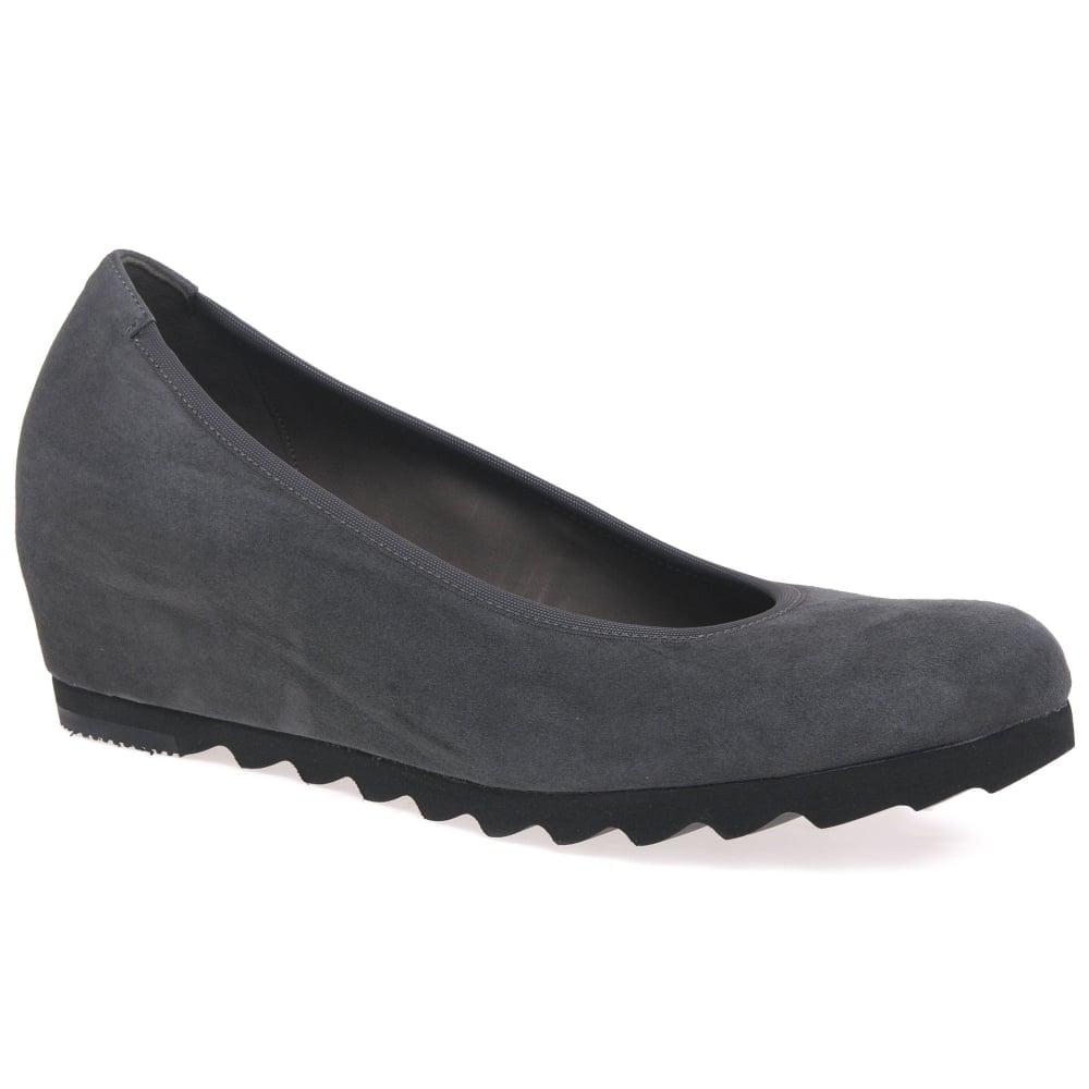 d61d00777a6c Gabor Request Modern Wedge Court Shoes