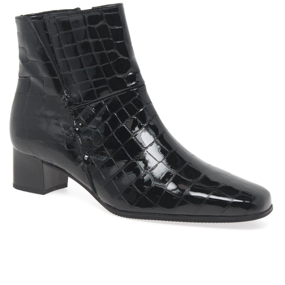 e58b91ffda7 Bassanio Leather Ladies Ankle Boots