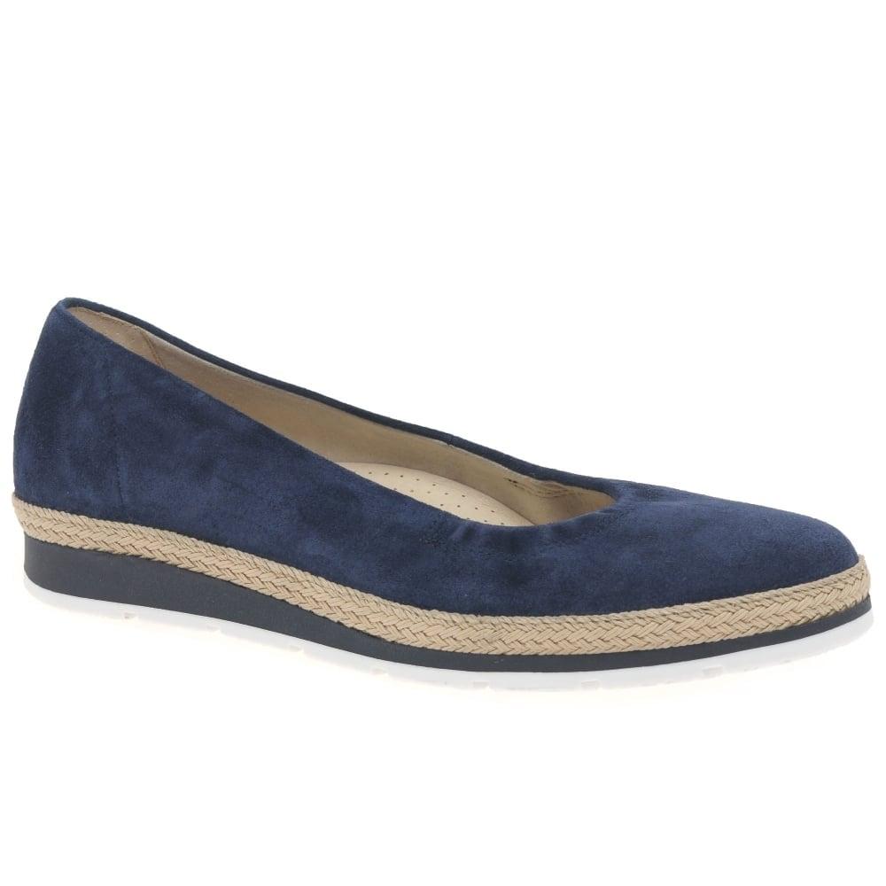 6c70fd15be9c3 Gabor Bridget Ladies Casual Suede Pumps   Gabor Shoes