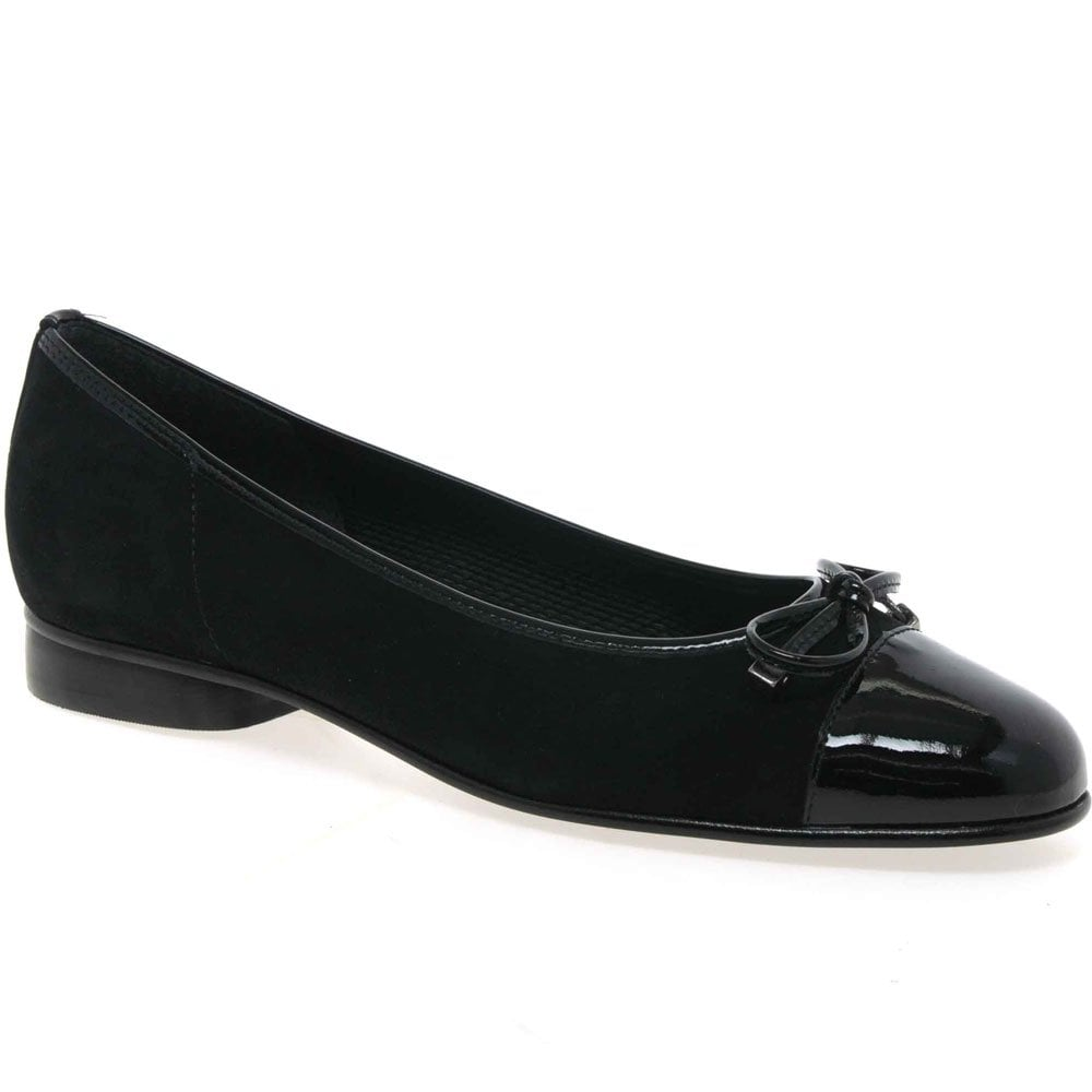 Ballerina pumps Gabor black Gabor