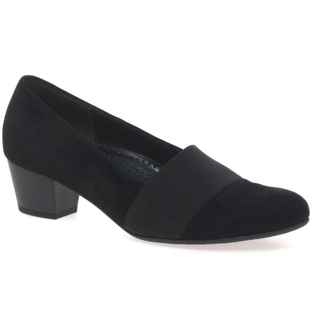 Sovereign Womens Wide Fitting Court Shoes
