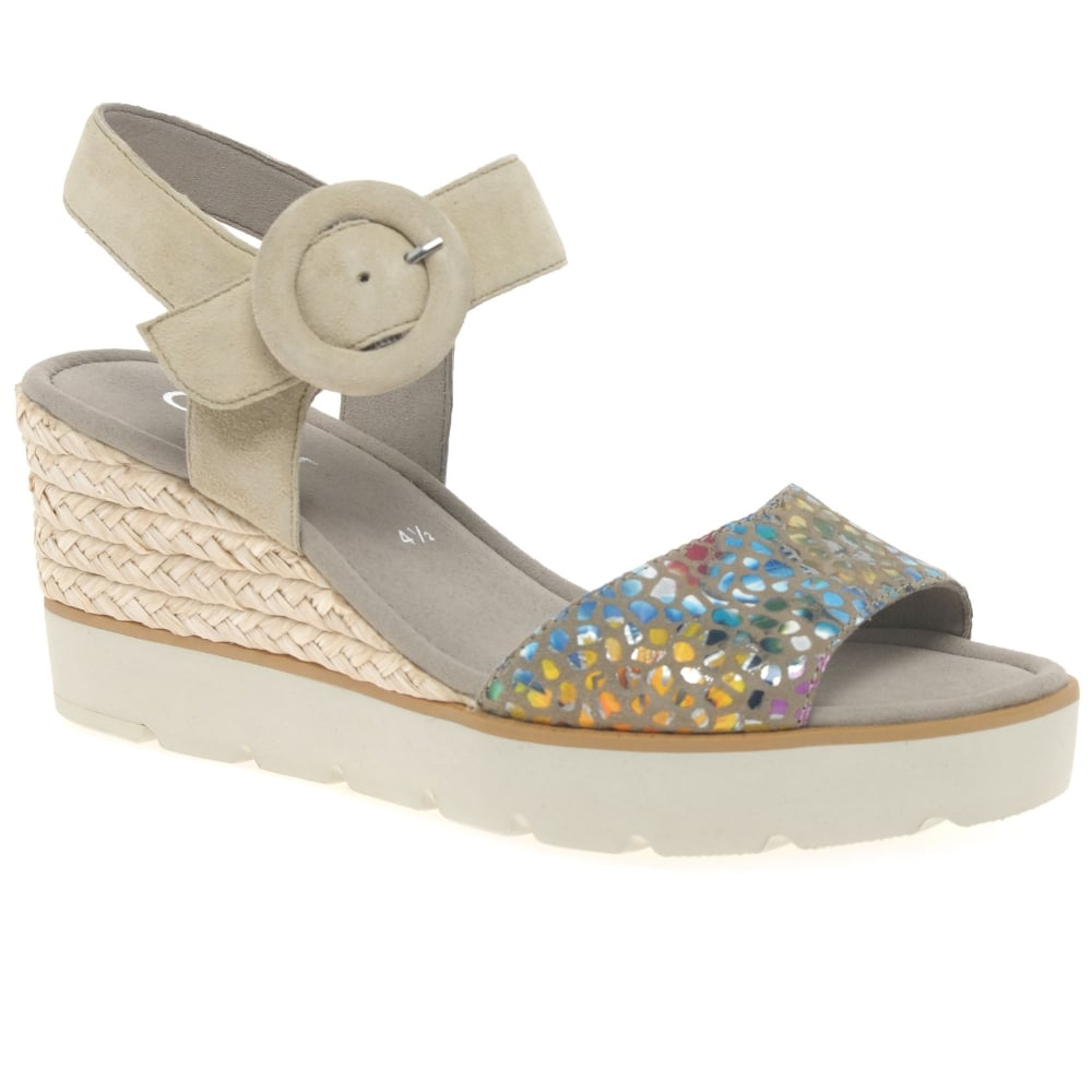 gabor obsession casual wedge heel sandals s