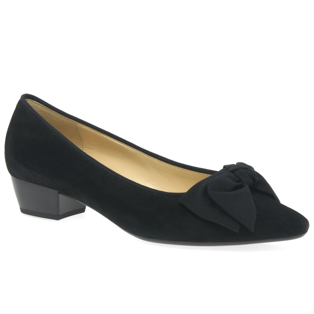 Visa Payment Cheap Price Low Shipping Fee Sale Online Loafers velvet bow Gabor black Gabor Shop For Extremely Authentic zv86L9Ul