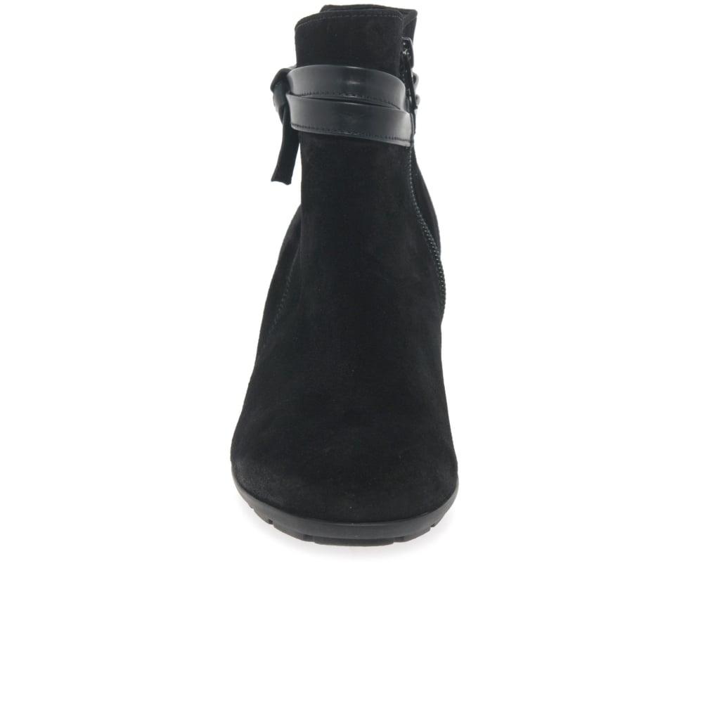 d517d2e4d Gabor Tiffey Ladies Modern Suede Zip Ankle Boots | Gabor Shoes