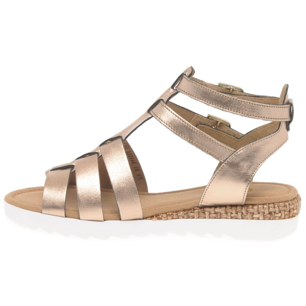 3c3a0f2edeb Gabor Felicity Ladies Modern Gladiator Sandals