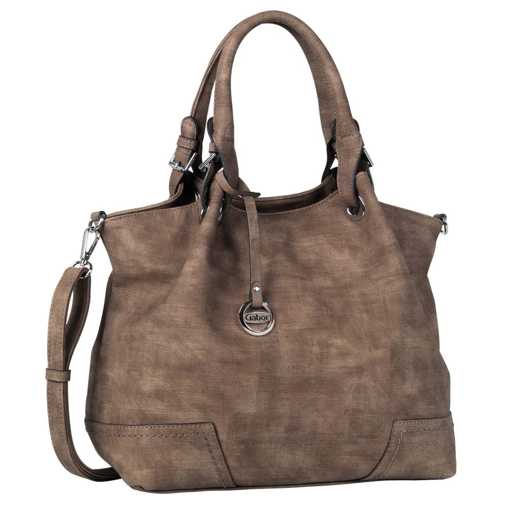 Bag in a metallic look Gabor Bags black Gabor FQpm1Zu