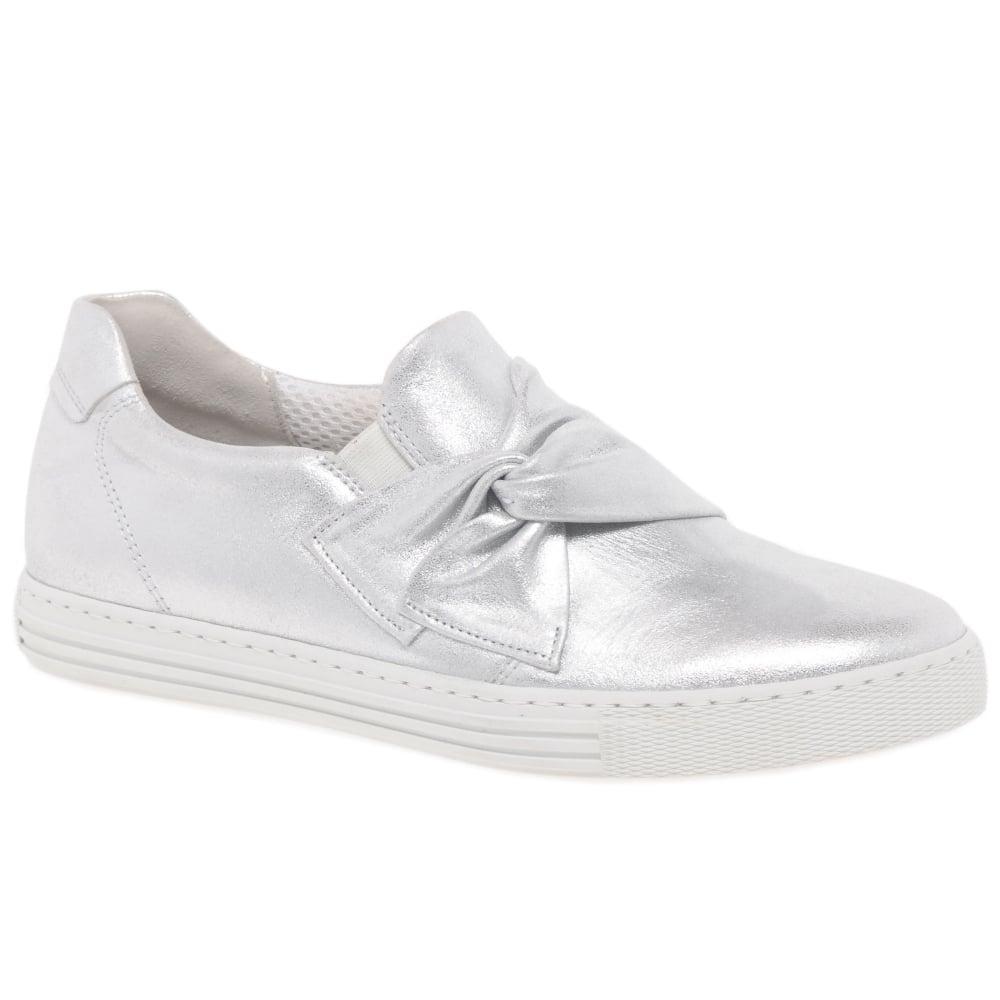 Gabor Actor Ladies Sporty Slip On Trainer Shoes  c7cc6714b67
