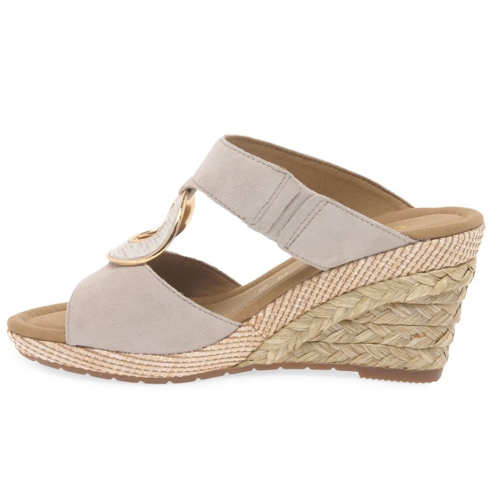 b24a29fef7d Sizzle II Womens Wedge Heel Sandals