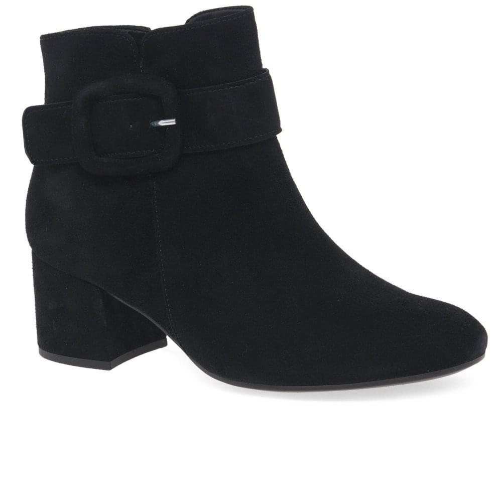 125b16178de5 Gabor Capri Ladies Chunky Buckle Detail Ankle Boots
