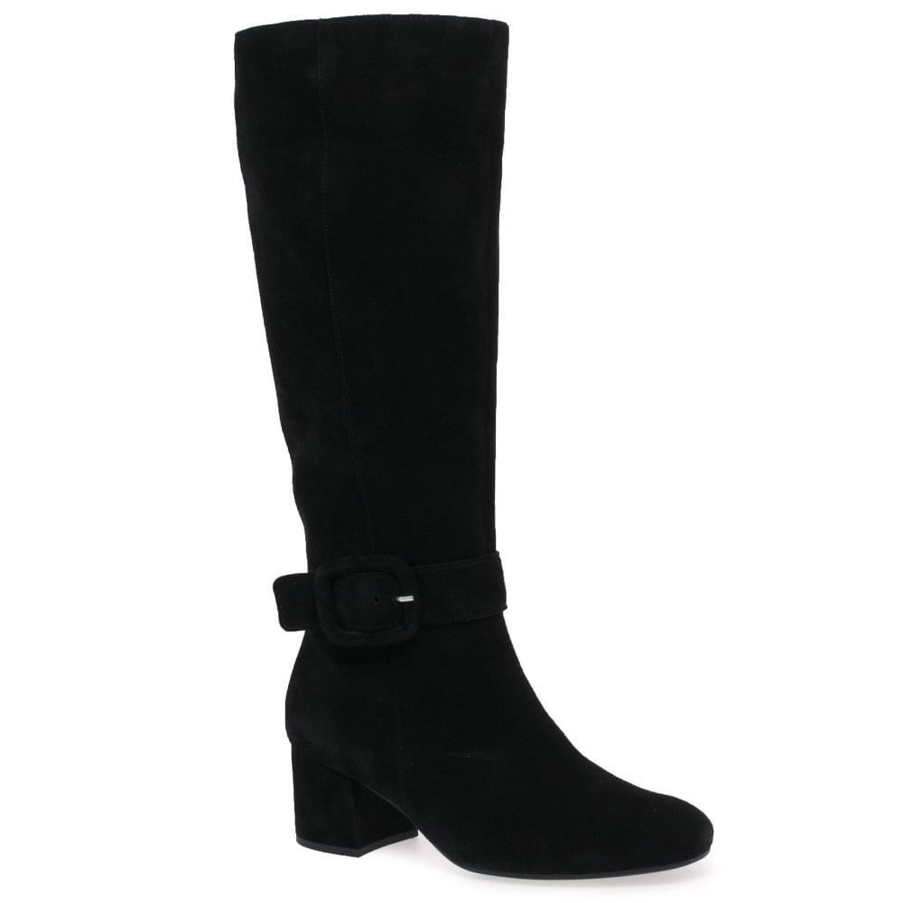 3db0b6eb93d0 Gabor Carnation M Ladies Long Buckle Detail Boots
