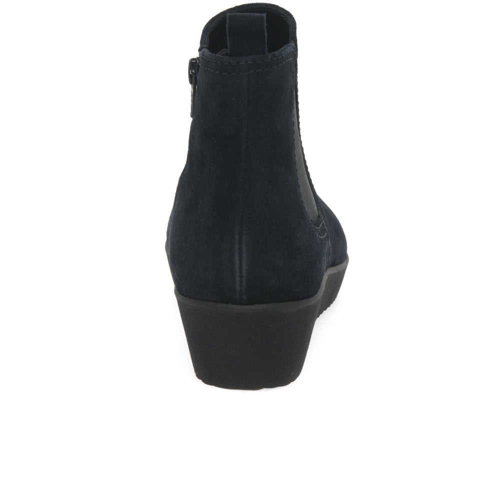 d998a22ca05 Ghost Ladies Wedged Ankle Boots