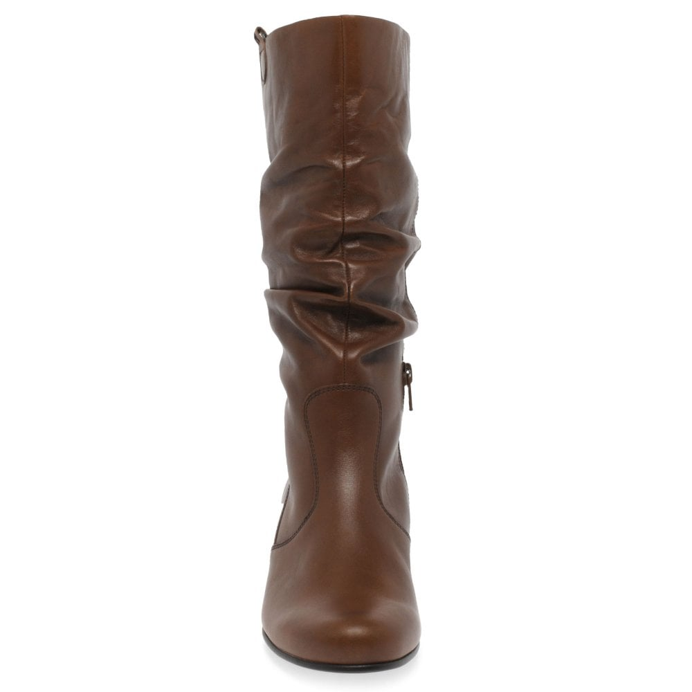 5f4e8f8ee94 Rachel Leather Wide Calf Boots
