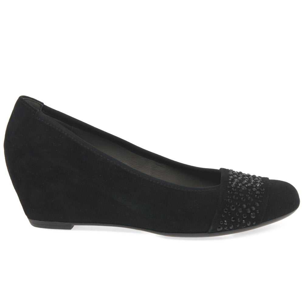 4a79cf27e5d Gabor Fodder Womens Wedge Heel Shoes