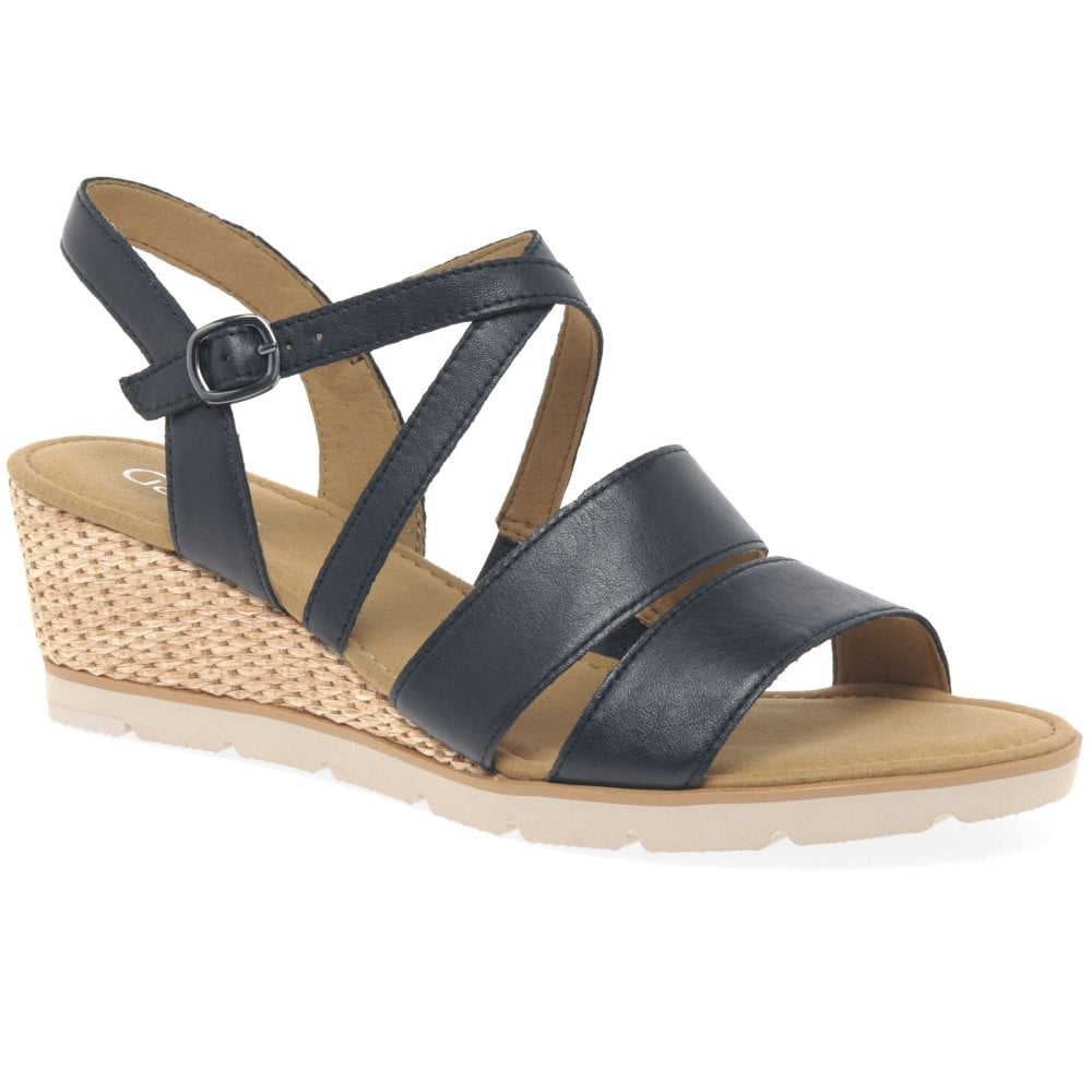top quality promo codes new authentic Protect Ladies Wedge Heel Sandals