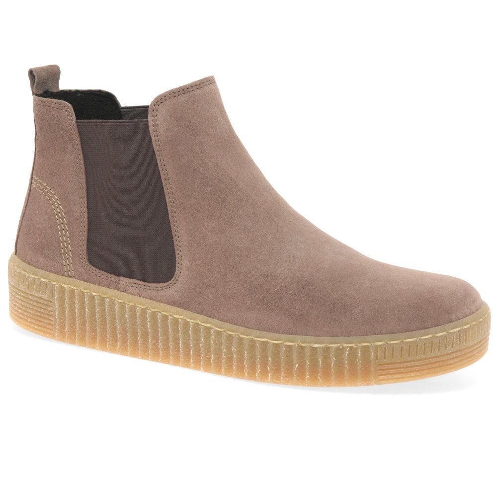 the latest cf0bd 66649 Lourdes Ladies Grooved Sole Chelsea Ankle Boots