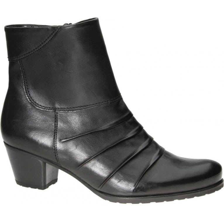 gabor tiger black dress ankle boot 35 726 boots from