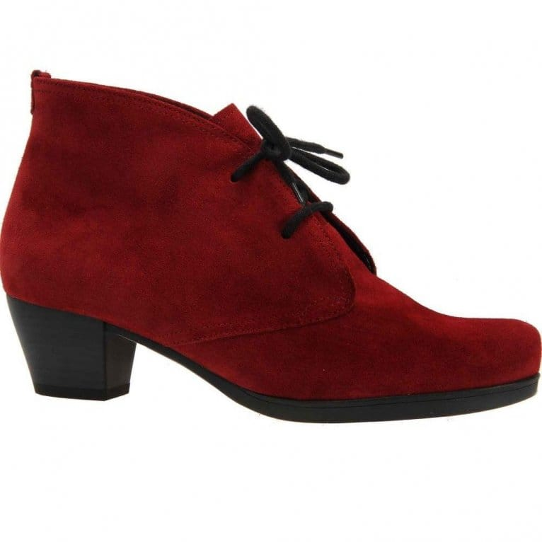 Gabor Cynthia Ladies Lace Up Ankle Boots