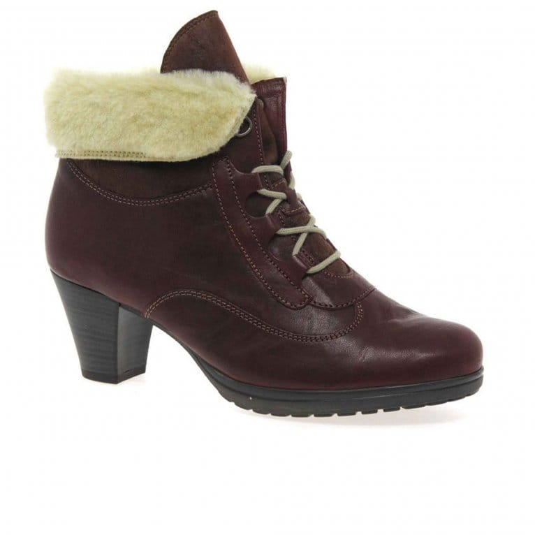 Gabor Cosmic Ladies Leather Lace Up Boots