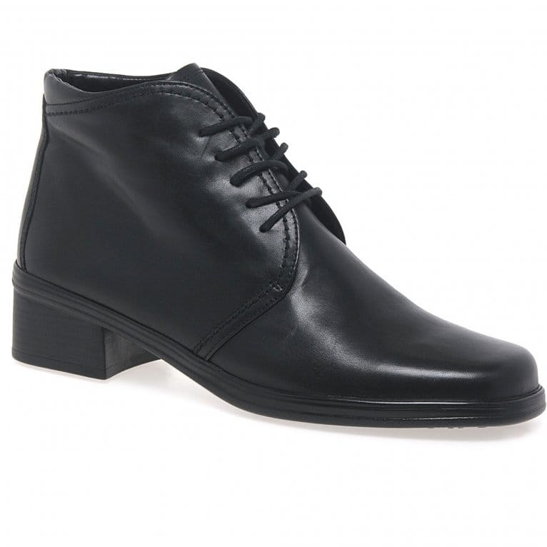 2bf81b19e1 Elaine Ladies Leather Womens Desert Boots