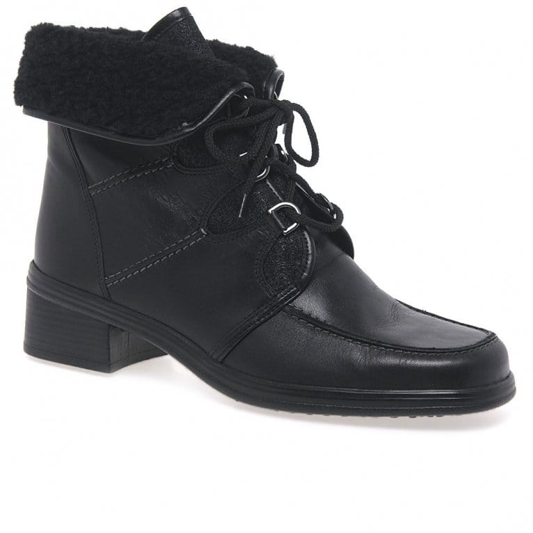 Gabor Rayce Ladies Warm Lined Ankle Boots