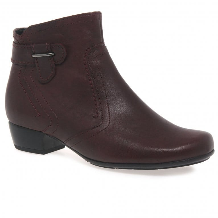 Gabor Bea Ladies Classic Wide Fit Ankle Boots