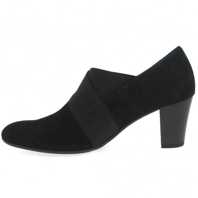 Gabor Function Ladies High Cut Court Shoes