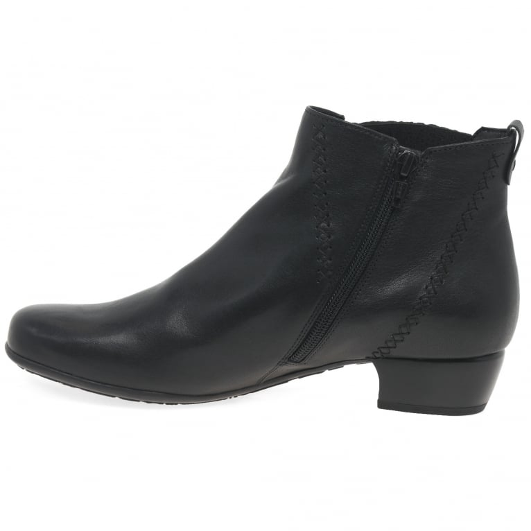 Gabor Betide Ladies Modern Wide Fit Ankle Boots