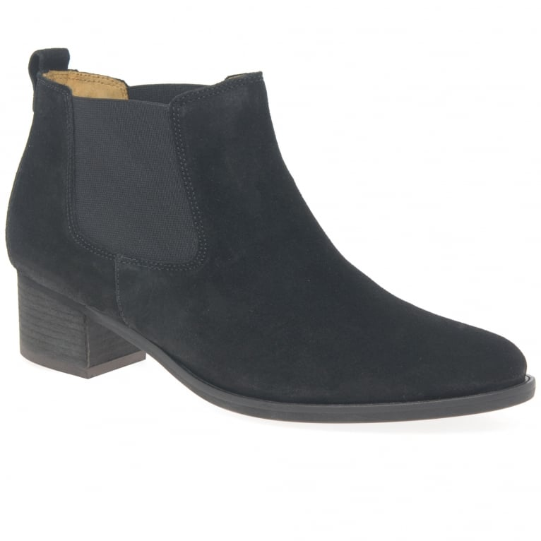 Gabor Confidential Ladies Modern Slip On Ankle Boots