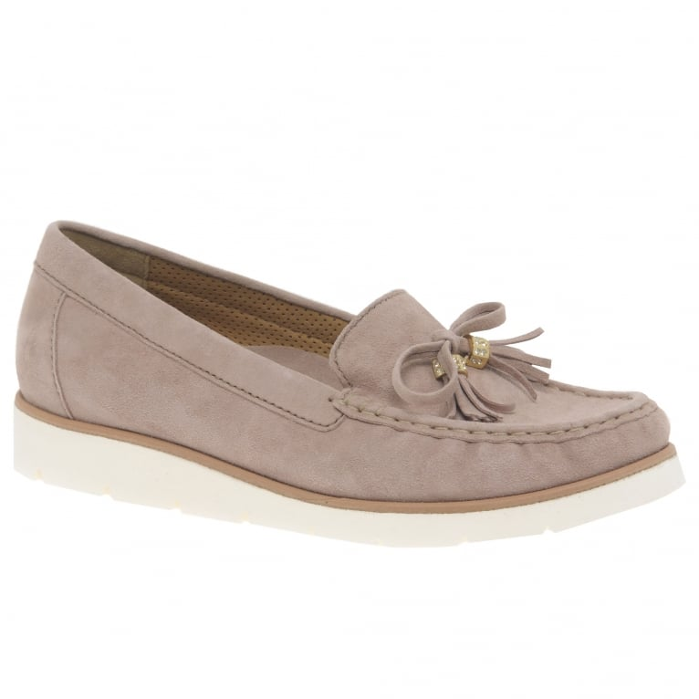 Gabor Isabelle Ladies Suede Moccasins